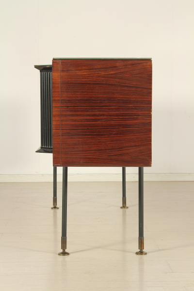 Cassettiera anni 50 mobilio modernariato - Cassettiera con specchio ...
